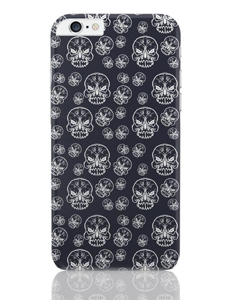 Abstract skull background iPhone 6 Plus / 6S Plus Covers Cases Online India