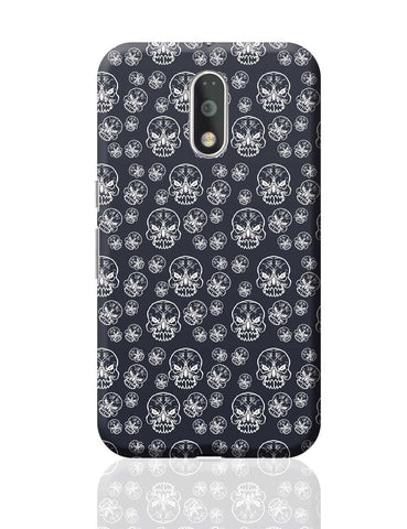 Abstract skull background Moto G4 Plus Online India