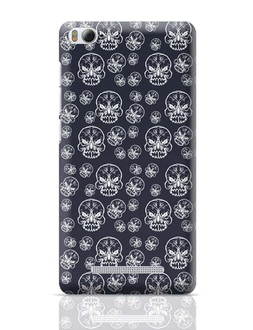 Abstract skull background Xiaomi Mi 4i Covers Cases Online India