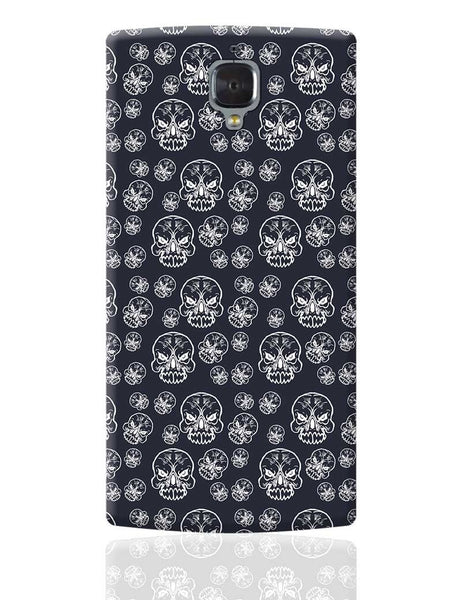 Abstract skull background OnePlus 3 Cover Online India