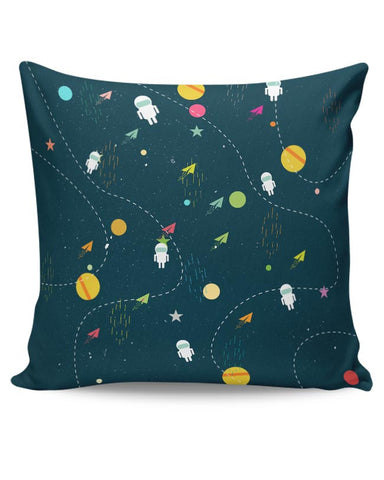 Space planets background Cushion Cover Online India
