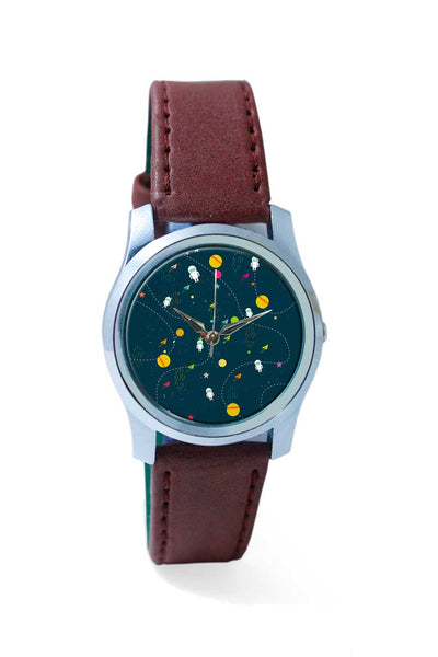 Women Wrist Watch India | Space planets background Wrist Watch Online India