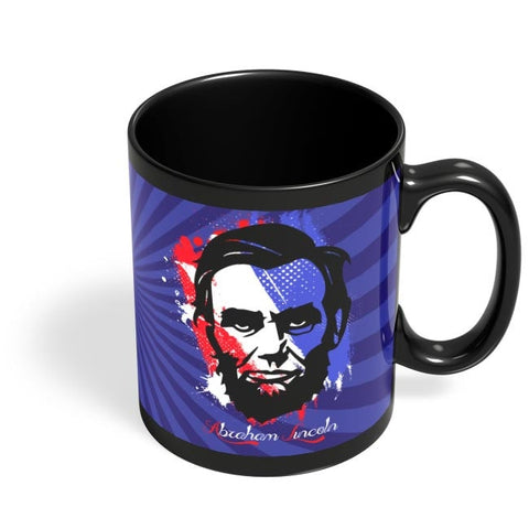 Abraham Lincoln Black Coffee Mug Online India