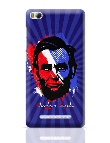 Abraham Lincoln Xiaomi Mi 4i Covers Cases Online India