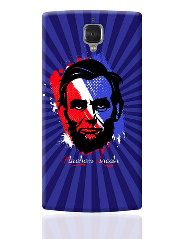 Abraham Lincoln OnePlus 3 Cover Online India