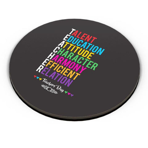 Teachers' Day On Black Fridge Magnet Online India