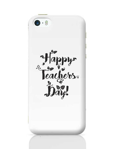 Happy Teachers Day Calligraphy iPhone 5/5S Covers Cases Online India