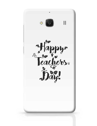 Happy Teachers Day Calligraphy Redmi 2 / Redmi 2 Prime Covers Cases Online India