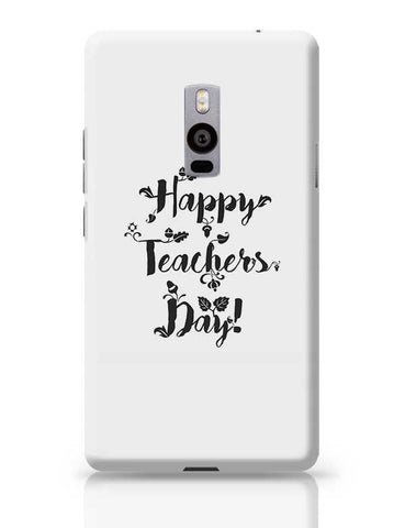 Happy Teachers Day Calligraphy OnePlus Two Covers Cases Online India