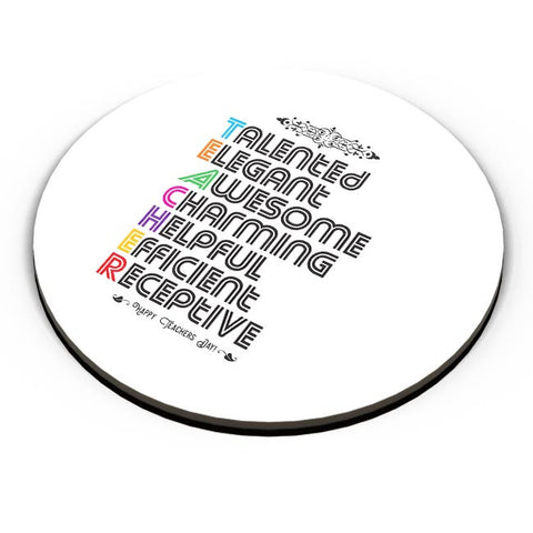 Talented Elegant Awesome Charming Helpful Efficient Receptive Fridge Magnet Online India