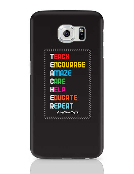 Tech Encourage Amaze Care Help Educate Repeat Samsung Galaxy S6 Covers Cases Online India