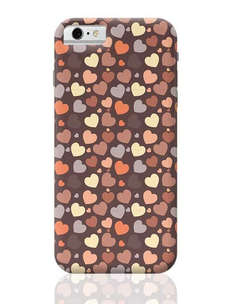 Chocolate Love Hearts iPhone 6 / 6S Covers Cases