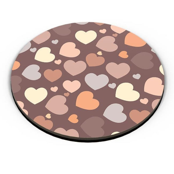 Chocolate Love Hearts Fridge Magnet Online India
