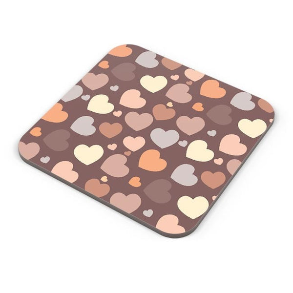 Chocolate Love Hearts Coaster Online India