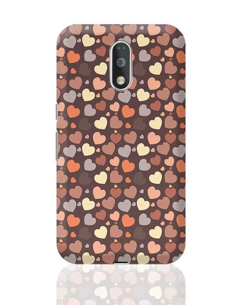 Chocolate Love Hearts Moto G4 Plus Online India