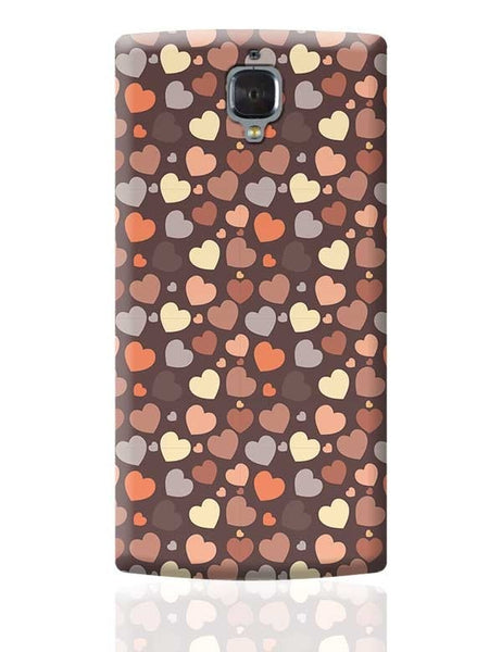 Chocolate Love Hearts OnePlus 3 Covers Cases Online India