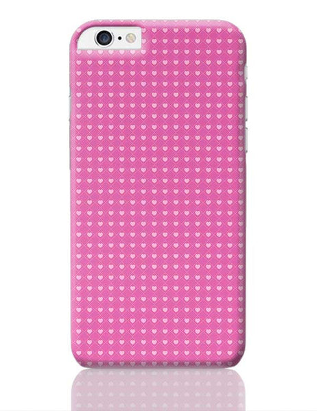 Square stroke hearts on pink  iPhone 6 Plus / 6S Plus Covers Cases Online India