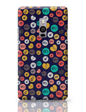 Colorful love hearts on dark blue OnePlus Two Covers Cases Online India