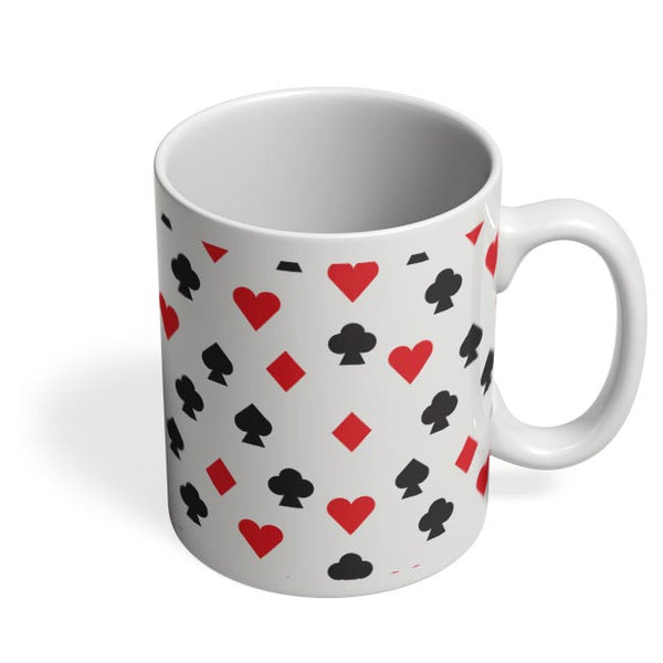 Playing Cards Coffee Mug Online India