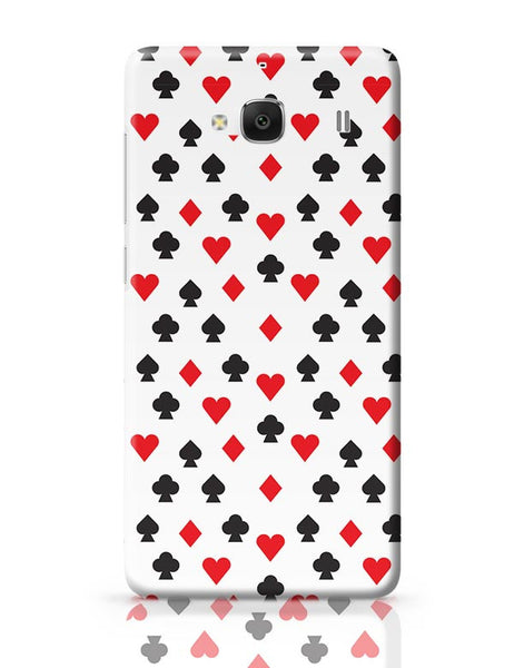Playing Cards Redmi 2 / Redmi 2 Prime Covers Cases Online India