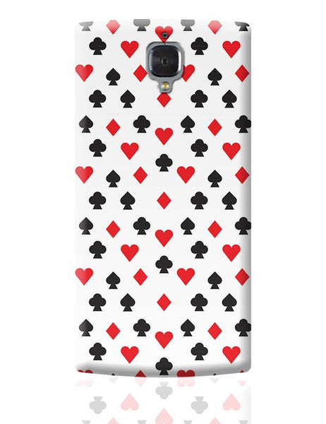 Playing Cards OnePlus 3 Covers Cases Online India