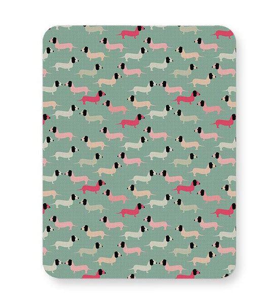 Dogs seamless pattern Vector Mousepad Online India