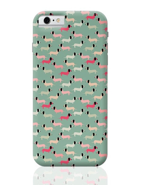 Dogs seamless pattern Vector iPhone 6 6S Covers Cases Online India