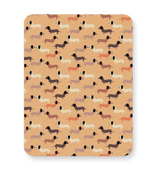 vector dog seamless pattern Mousepad Online India