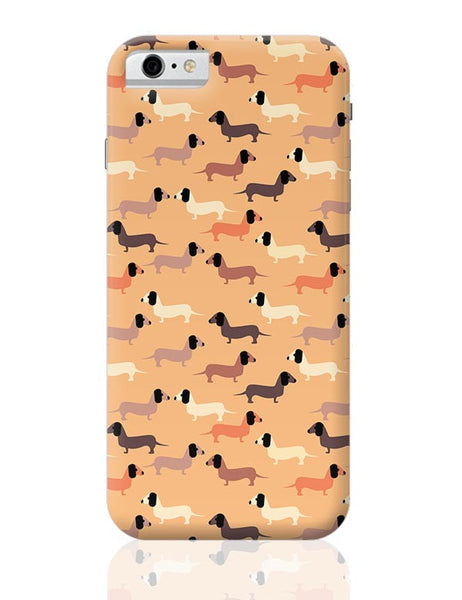 vector dog seamless pattern iPhone 6 / 6S Covers Cases