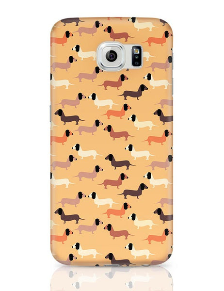 vector dog seamless pattern Samsung Galaxy S6 Covers Cases Online India