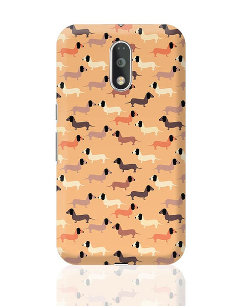 vector dog seamless pattern Moto G4 Plus Online India