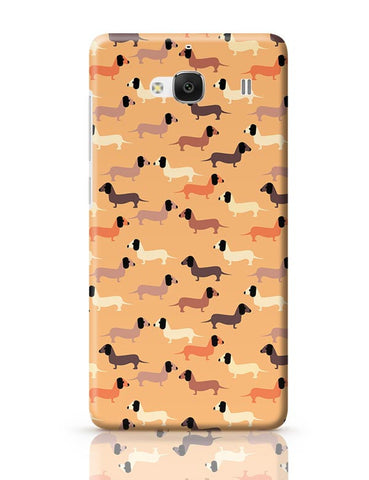 vector dog seamless pattern Redmi 2 / Redmi 2 Prime Covers Cases Online India