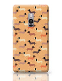 vector dog seamless pattern OnePlus Two Covers Cases Online India