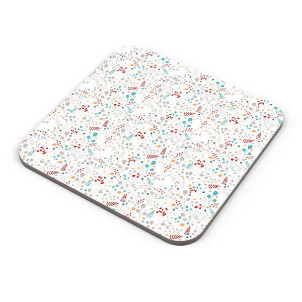 Seamless leaves and floral pattern Coaster Online India