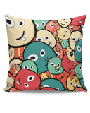 Funny Colorful Doodles Cushion Cover Online India