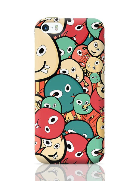 Funny Colorful Doodles iPhone 5/5S Covers Cases Online India