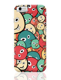 Funny Colorful Doodles iPhone 6 6S Covers Cases Online India