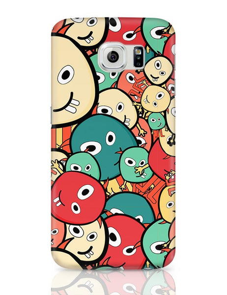 Funny Colorful Doodles Samsung Galaxy S6 Covers Cases Online India