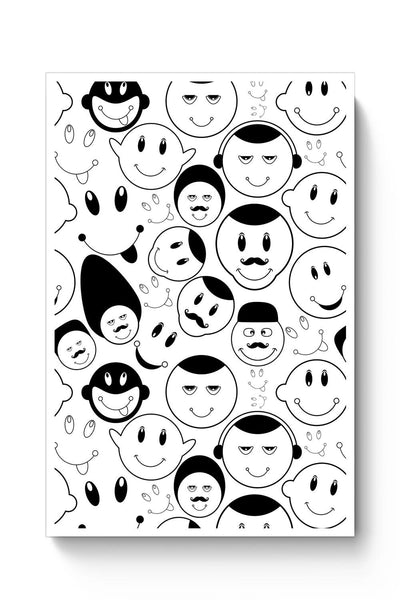 Buy Black And White Doodle Poster