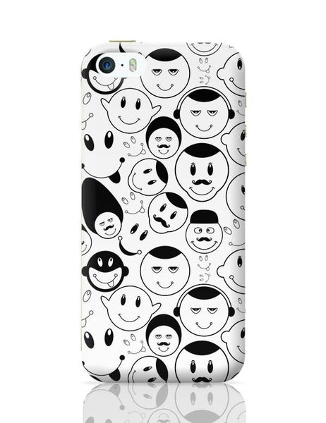 Black And White Doodle iPhone 5/5S Covers Cases Online India