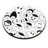 Black And White Doodle Fridge Magnet Online India
