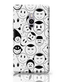 Black And White Doodle OnePlus Two Covers Cases Online India