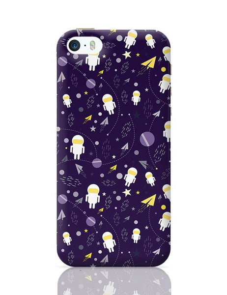 Planets stars and other objects in space on dark blue iPhone 5/5S Covers Cases Online India