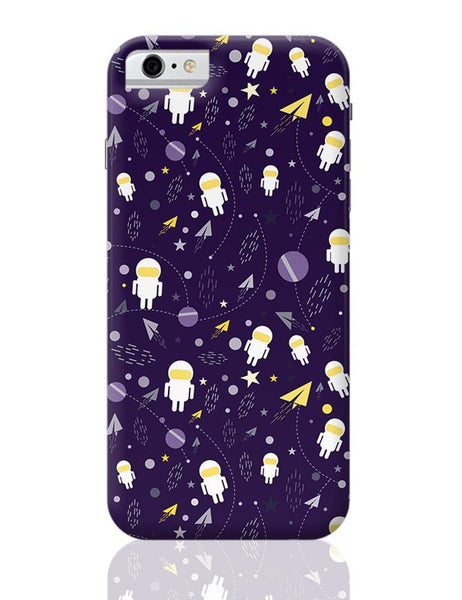 Planets stars and other objects in space on dark blue iPhone 6 6S Covers Cases Online India