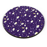 Planets stars and other objects in space on dark blue Fridge Magnet Online India