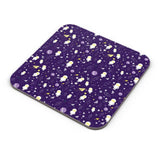 Planets stars and other objects in space on dark blue Coaster Online India