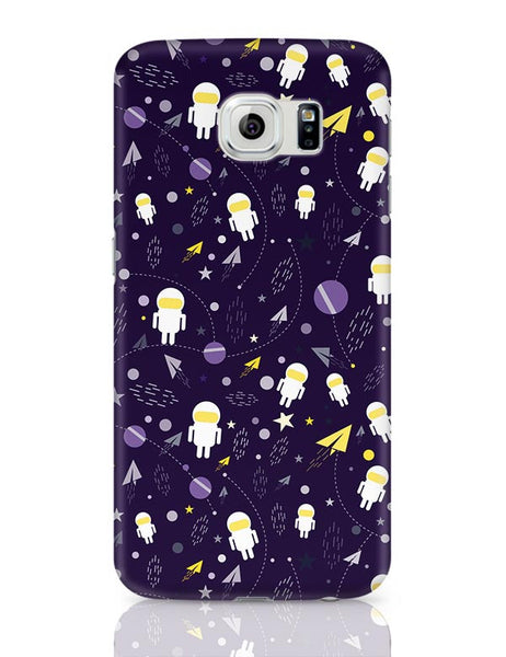 Planets stars and other objects in space on dark blue Samsung Galaxy S6 Covers Cases Online India