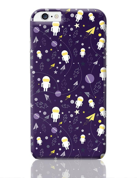 Planets stars and other objects in space on dark blue iPhone 6 Plus / 6S Plus Covers Cases Online India