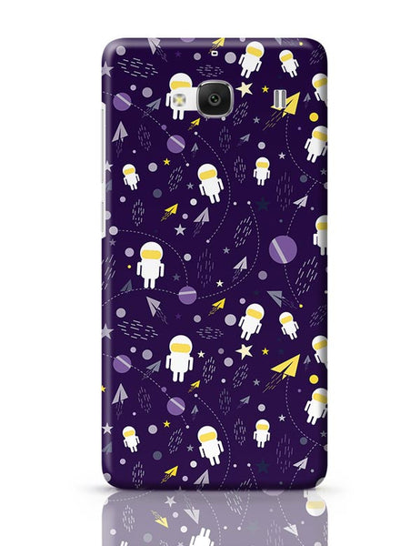 Planets stars and other objects in space on dark blue Redmi 2 / Redmi 2 Prime Covers Cases Online India
