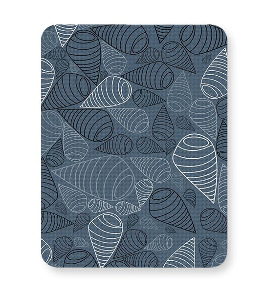 Swirl geometric  on grey Mousepad Online India